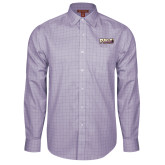 Red House Purple Plaid Non Iron Long Sleeve Shirt-PVAMU