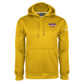 Under Armour Gold Performance Sweats Team Hoodie-MSD Alumni