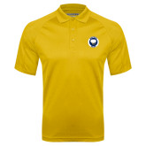 Gold Textured Saddle Shoulder Polo-Marching Storm Cloud Circle