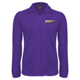 Fleece Full Zip Purple Jacket-PVAMU
