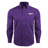 Red House Purple Long Sleeve Shirt-PVAMU