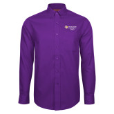 Red House Purple Long Sleeve Shirt-Dad