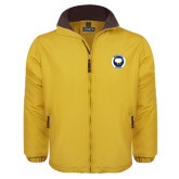 Gold Survivor Jacket-Marching Storm Cloud Circle