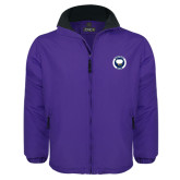 Purple Survivor Jacket-Marching Storm Cloud Circle