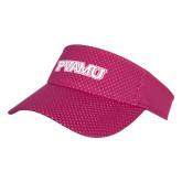 Pink Athletic Mesh Visor-PVAMU