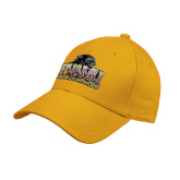 Gold Heavyweight Twill Pro Style Hat-Athletic Directors Club