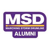 Medium Magnet-MSD Alumni, 8 inches wide