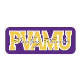 Medium Magnet-PVAMU Twirling Thunder Overlap, 8 inches wide