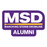 Large Magnet-MSD Alumni, 12 inches wide