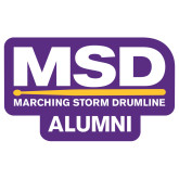 Extra Large Magnet-MSD Alumni, 18 inches wide