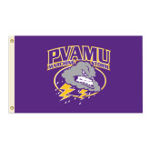 3 ft x 5 ft Flag-PVAMU Storm Cloud