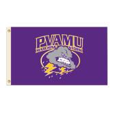 3 ft x 5 ft Flag-PVAMU Storm Cloud