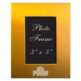 Gold Brushed Aluminum 3 x 5 Photo Frame-Official Logo Engraved