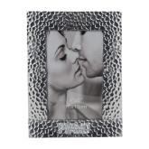 Silver Textured 4 x 6 Photo Frame-PVAMU Engraved