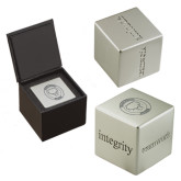 Icon Inspiration Cube-Marching Storm Cloud Circle Engraved