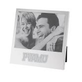 Silver Two Tone 5 x 7 Vertical Photo Frame-PVAMU Engraved