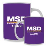 Full Color White Mug 15oz-MSD Alumni