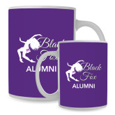 Full Color White Mug 15oz-Black Fox Alumni