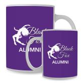 Full Color White Mug 15oz-Black Fox Alumni