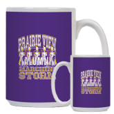 Full Color White Mug 15oz-Praire View marching Storm w/ Majors