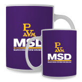 Full Color White Mug 15oz-MSD w/ PVAM Logo