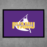 Full Color Indoor Floor Mat-PVAMU Twirling Thunder Logo