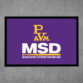 Full Color Indoor Floor Mat-MSD w/ PVAM Logo