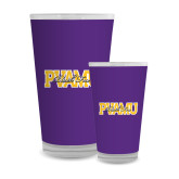 Full Color Glass 17oz-PVAMU Black Fox Overlap