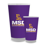 Full Color Glass 17oz-MSD w/ PVAM Logo