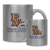 Full Color Silver Metallic Mug 11oz-PVAM Stacked