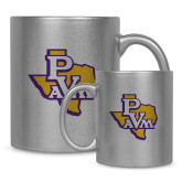 Full Color Silver Metallic Mug 11oz-PVAM Texas