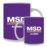 Alumni Full Color White Mug 15oz-MSD Alumni