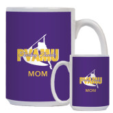 Mom Full Color White Mug 15oz-Twirling Thunder Mom