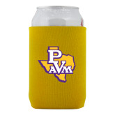 Neoprene Gold Can Holder-PVAM Texas