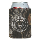 Collapsible Camo Can Holder-Marching Storm Cloud Circle