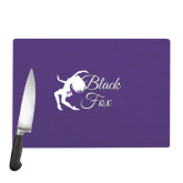 Cutting Board-Black Fox Logo