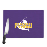 Cutting Board-PVAMU Twirling Thunder Logo
