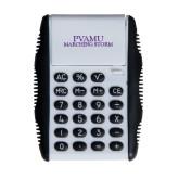 White Flip Cover Calculator-PVAMU Marching Storm Wordmark