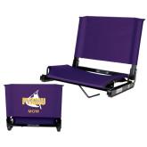 Stadium Chair Purple-Twirling Thunder Mom