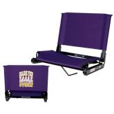 Stadium Chair Purple-Praire View marching Storm w/ Majors