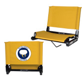 Stadium Chair Gold-Marching Storm Cloud Circle