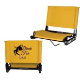 Stadium Chair Gold-Black Fox Dad