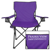 Deluxe Purple Captains Chair-Word Mark Stacked