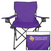 Deluxe Purple Captains Chair-PVAM Texas Flat