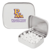 White Rectangular Peppermint Tin-PVAM Stacked