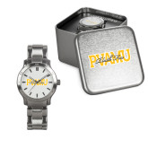 Ladies Stainless Steel Fashion Watch-PVAMU Black Fox Overlap