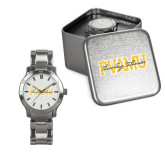 Ladies Stainless Steel Fashion Watch-PVAMU Twirling Thunder Overlap