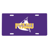 License Plate-PVAMU Twirling Thunder Logo