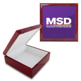 Red Mahogany Accessory Box With 6 x 6 Tile-MSD