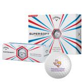 Callaway Supersoft Golf Balls 12/pkg-PVAM Texas Stacked